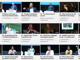 Video recording of some of the WCSJ2019 sessions is now available