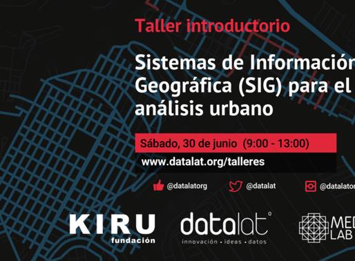 Taller Introductorio de SIG aplicado a estudios urbanos