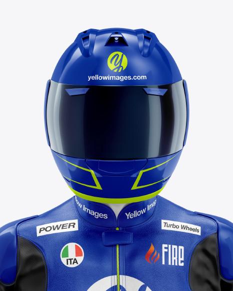 MotoGP Racing Kit Mockup - Front View