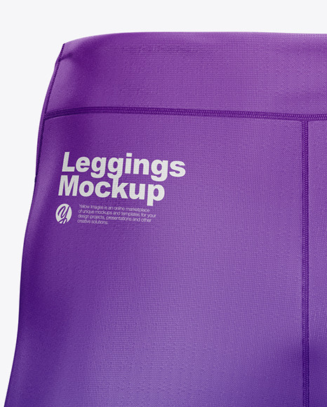 Men's Leggings Mockup