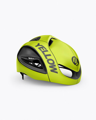 Cycling Helmet Mockup - Half Side View