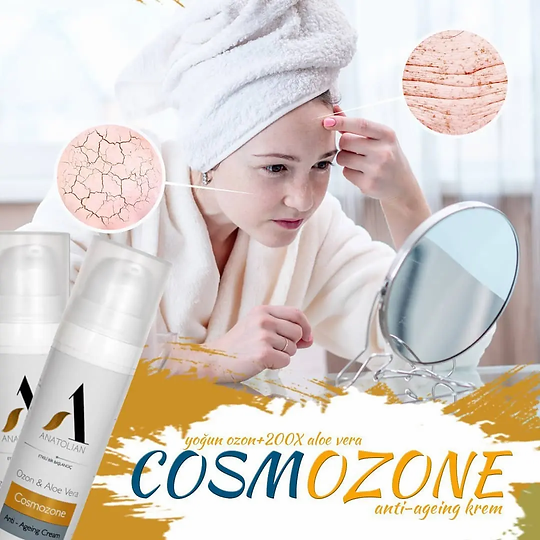Cosmozone Anatolian International Lüx Bakım Kremi Yoğun Ozon+Aloe Vera