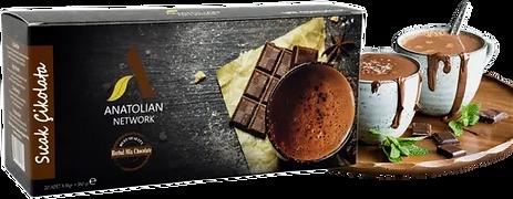 HERBAL MIX SICAK ÇİKOLOTAAnatolian International Bitter Çikolata, Propolis, Keçiboynuzu