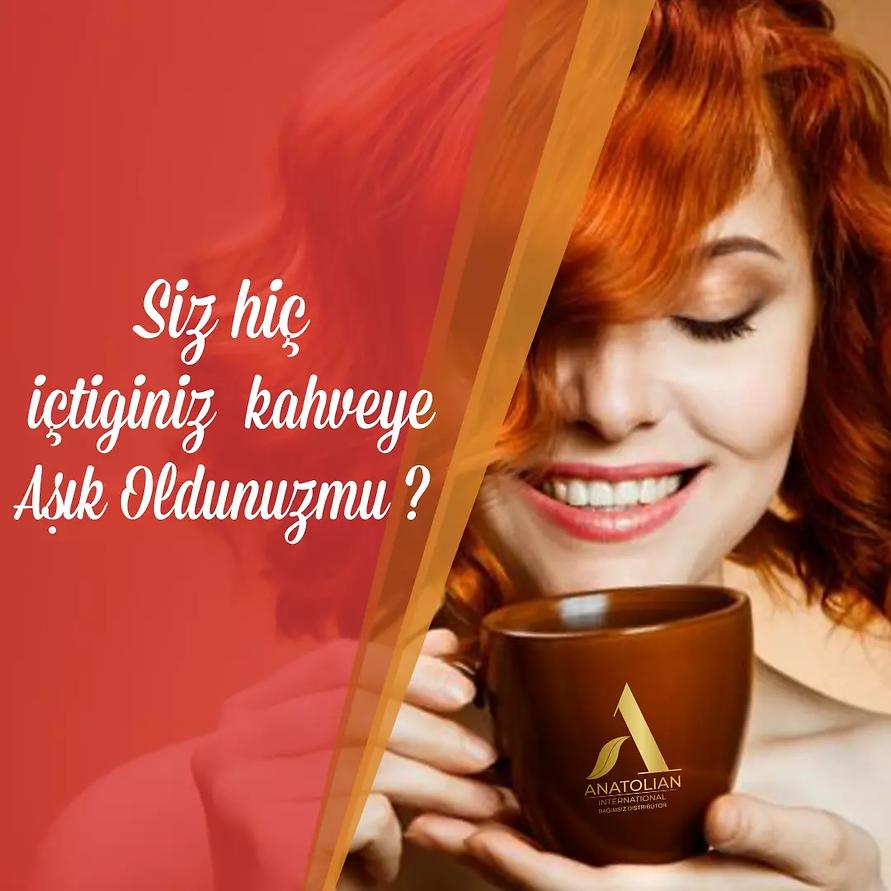 Anatolian International Sağlıklı Kahve Serisi