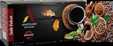 HERBAL MIX 5 in 1 SADE KAHVE Anatolian International Propolis, Keçi Boynuzu  Çörek Otu, Kırmızı Reishi Mantarı