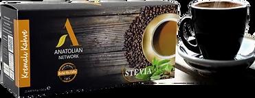 HERBAL MIX 7 in 1 KREMALI KAHVEAnatolian International Propolis, Keçi Boynuzu, Çörek Otu  Kırmmızı Reishi Mantarı, Bitkisel Krema  Stevia Şeker