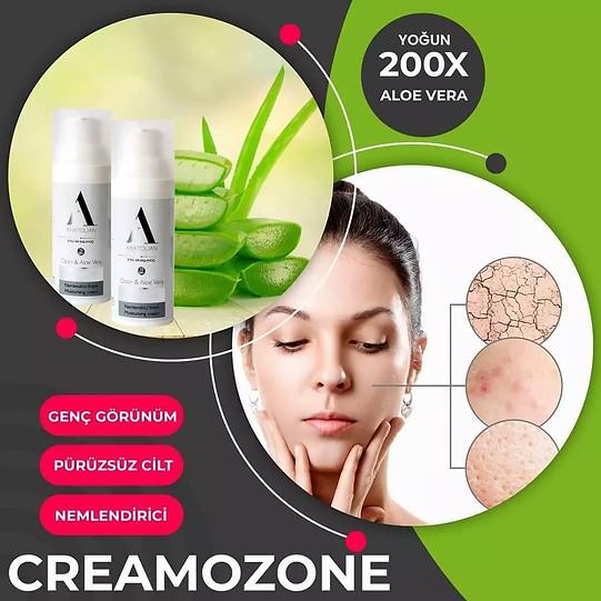Creamozone Anatolian International Nemlendirici Krem Ozon ve Yoğun 200X Aloe Vera