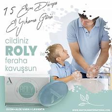 Roly Sabun Anatolian International'ın Ozonlu Lavantılı Muhteşem Sabunu