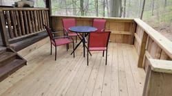 Smaller deck