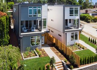 SOLD! Modern Luxury Homes in West Seattle