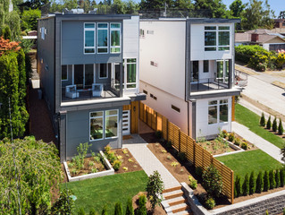 Modern Luxury Homes in West Seattle