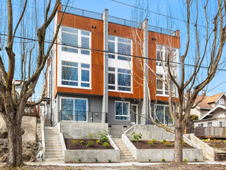 ALL 6 SOLD! North Beacon Hill - New Construction Townhome Residences
