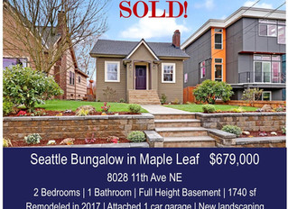 Maple Leaf Bungalow - SOLD!