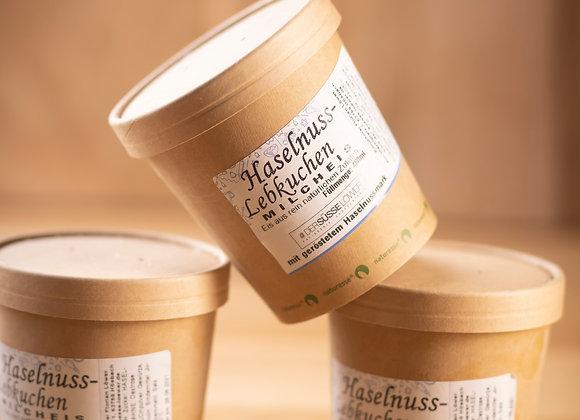 Haselnuss - Lebkuchen - Milcheis 480ml