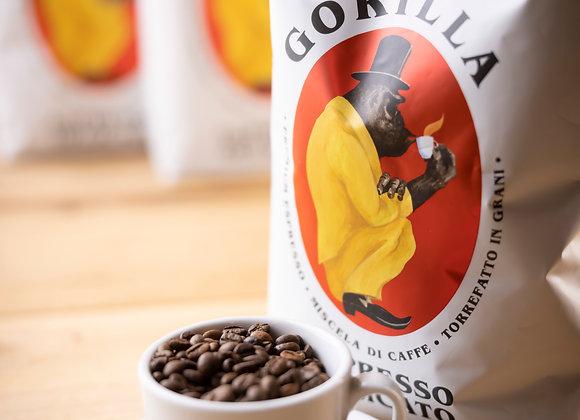 Gorilla Espresso Delicato 1kg ganze Bohne