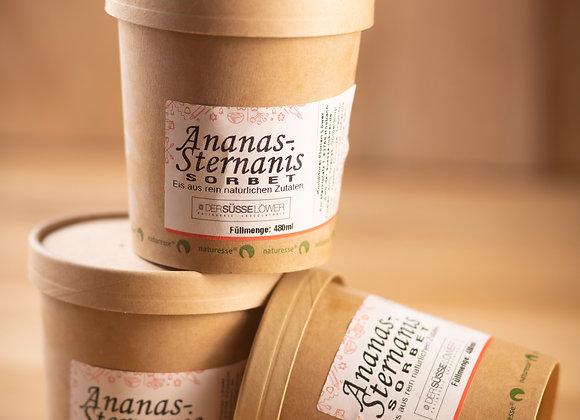 Ananas - Sternanis - Sorbet 480ml