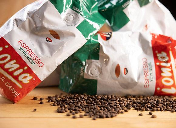 Caffe Ionia Superior 1kg ganze Bohne