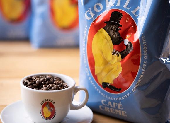 Gorilla Café Creme 1Kg ganze Bohne