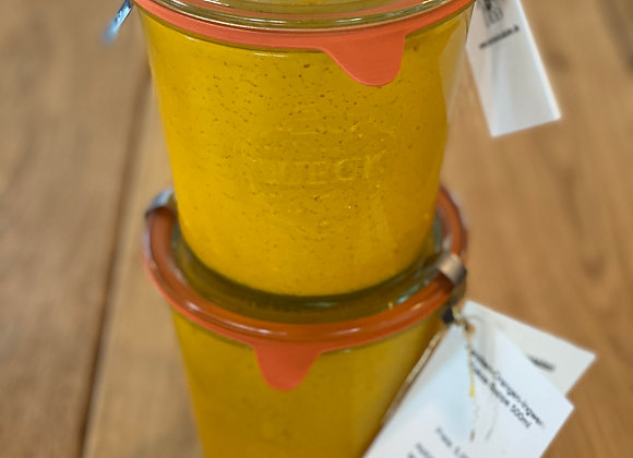 Karotten-Orangen-Kokos-Ingwer-Suppe (vegan) 500 ml