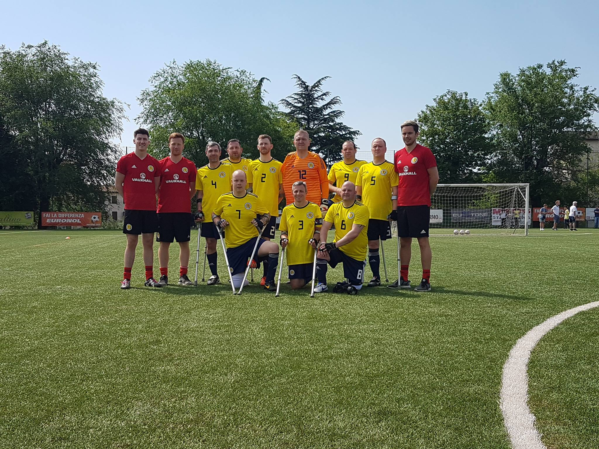 Scotland Seniors in Italy 2018
