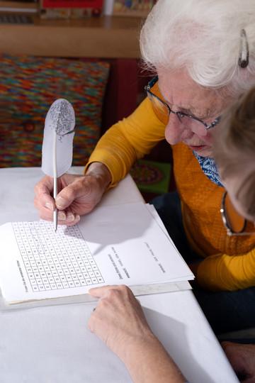 Gedächtnistraining - kognitive Leistungen werden gefördert