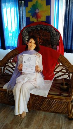 Miyuki_幸M_Rishikesh_Yoga_Certificate