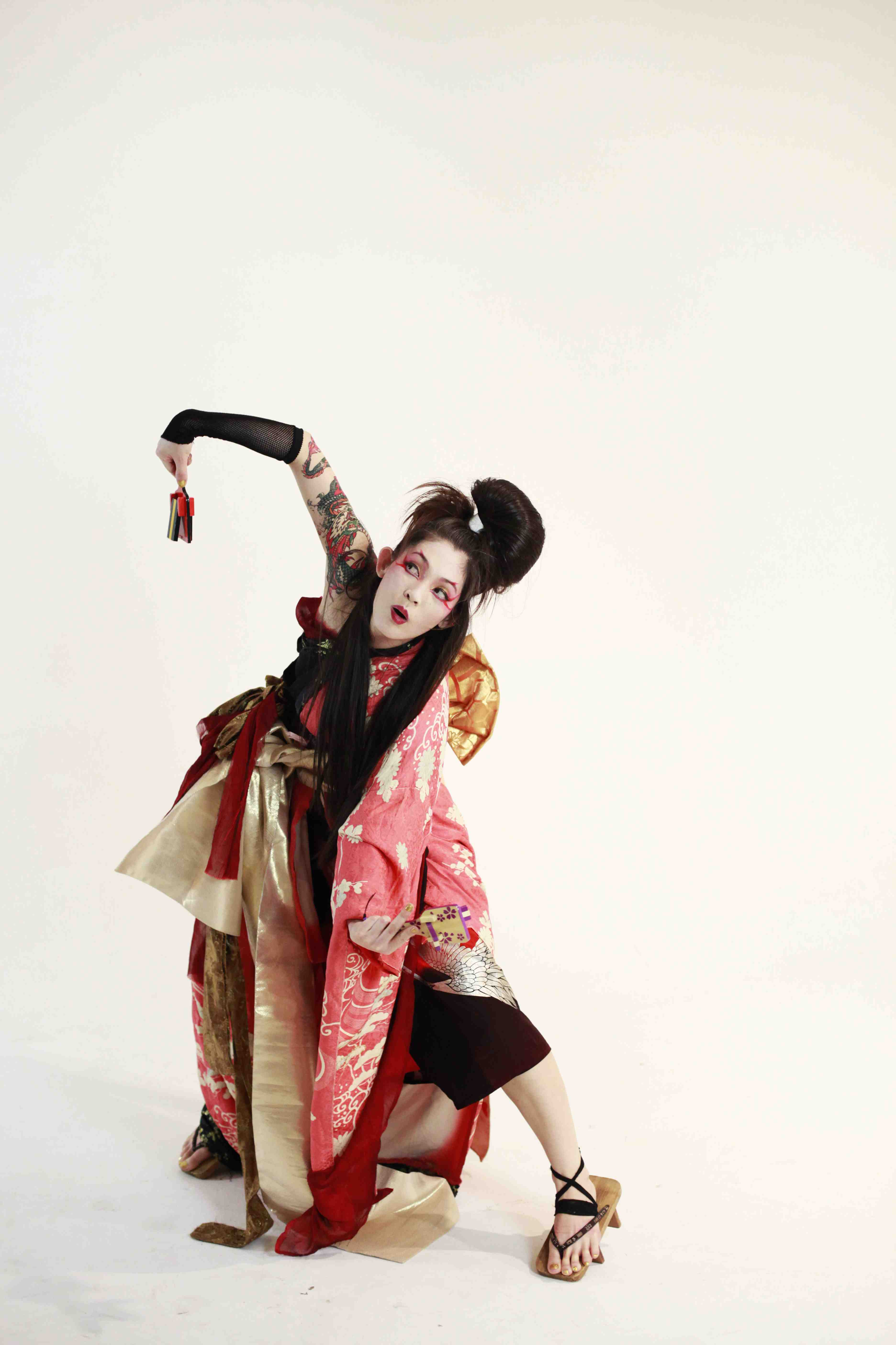 MIYUKI matsunaga GETA DANCE ART small