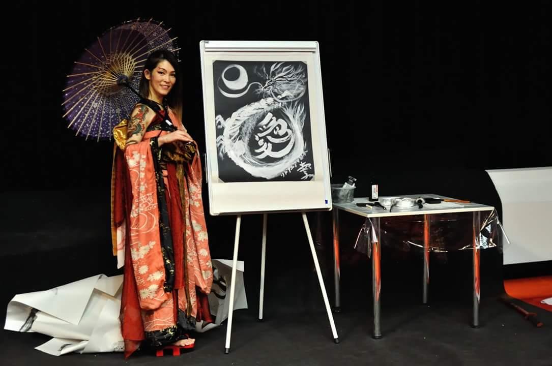 Miyuki GetaDance Live Art
