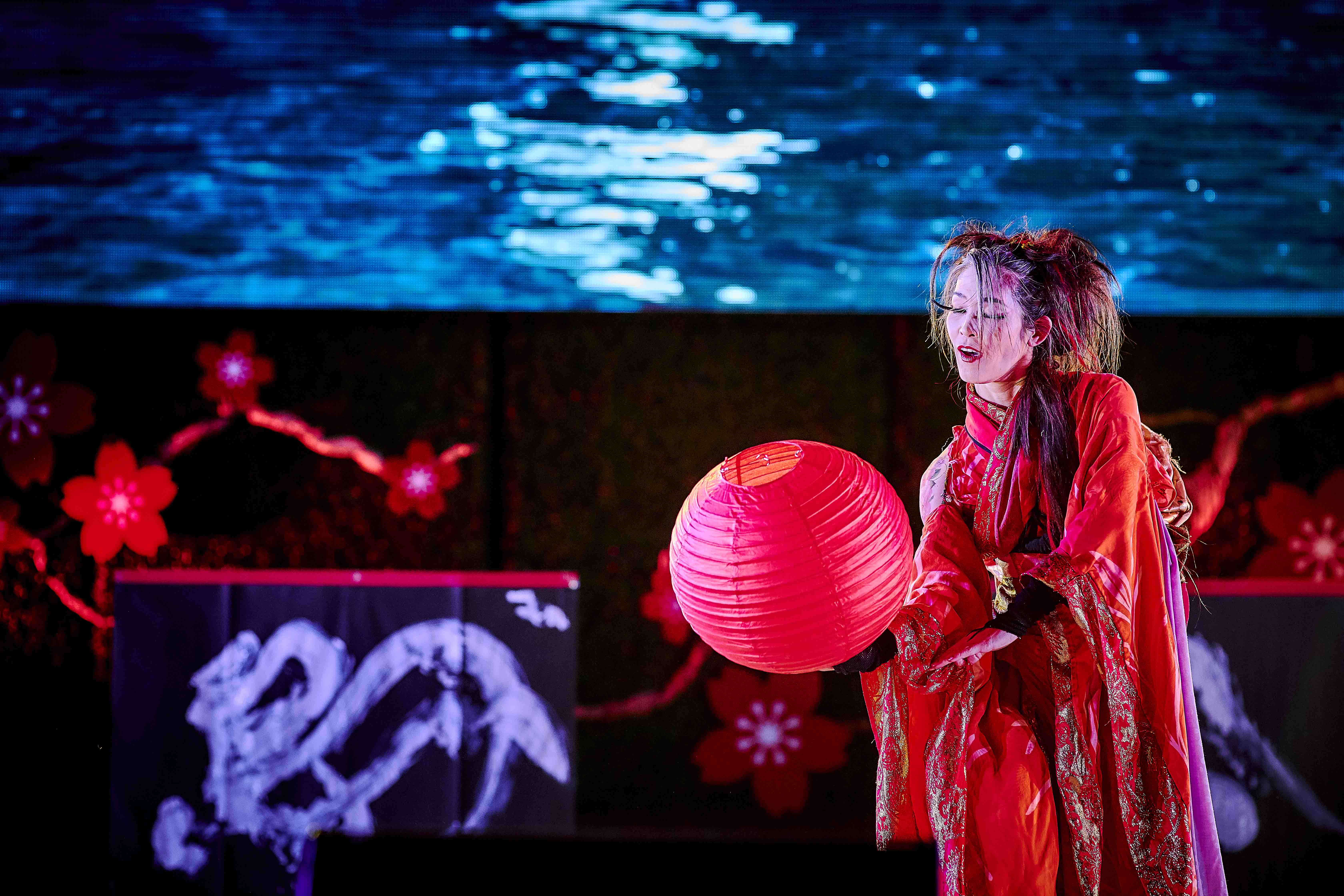 Miyuki GEAT DANCE ART moon OCfest