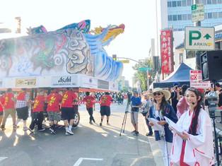 Miyuki Matsunaga emcee Nisei Week Parade
