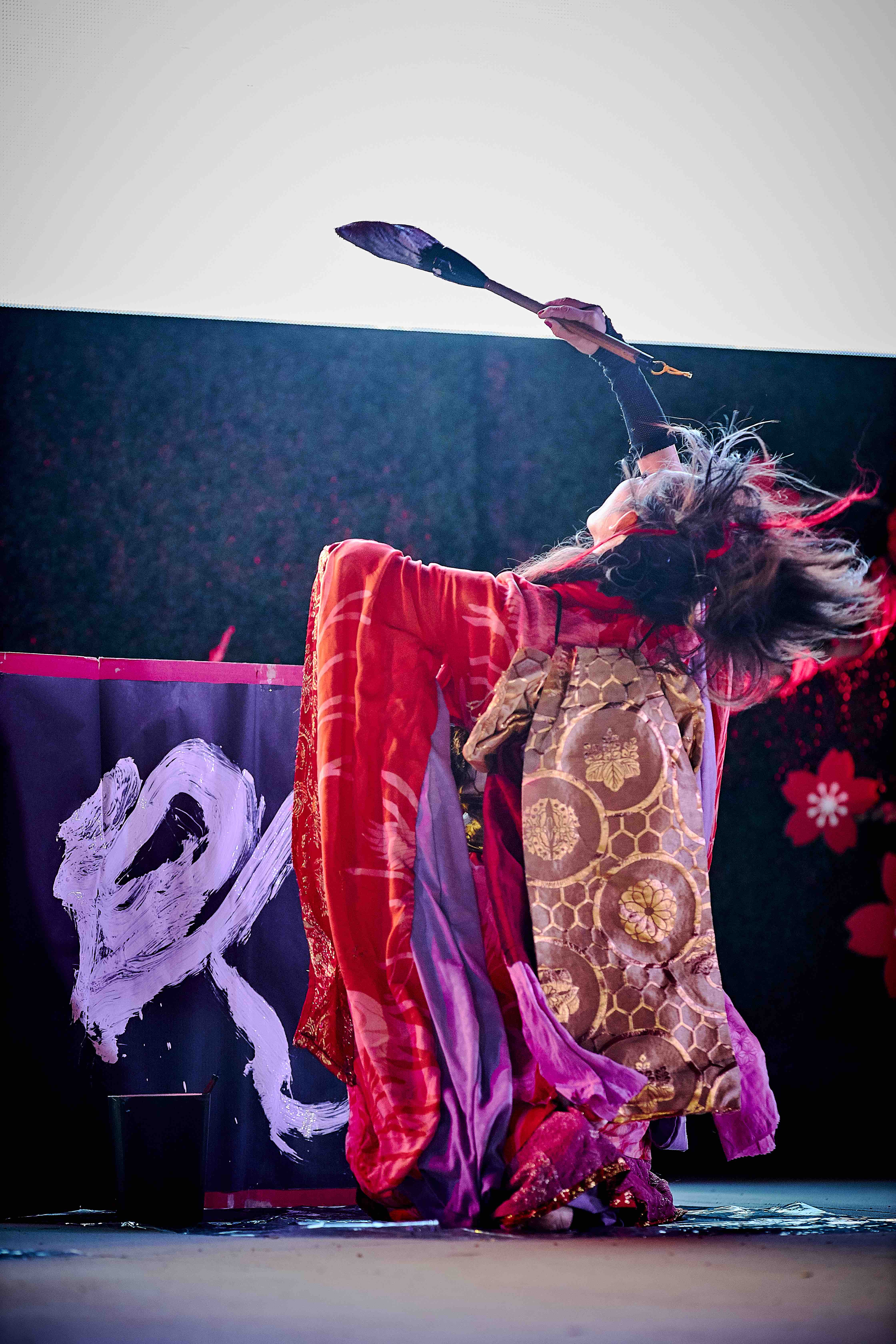Miyuki GETA DANCE ART OCcbfest calligrap