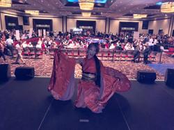 Miyuki Matsunaga GETA DANCE ART San Dieg