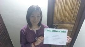 Miyuki Matsunaga India - Reiki Certifica