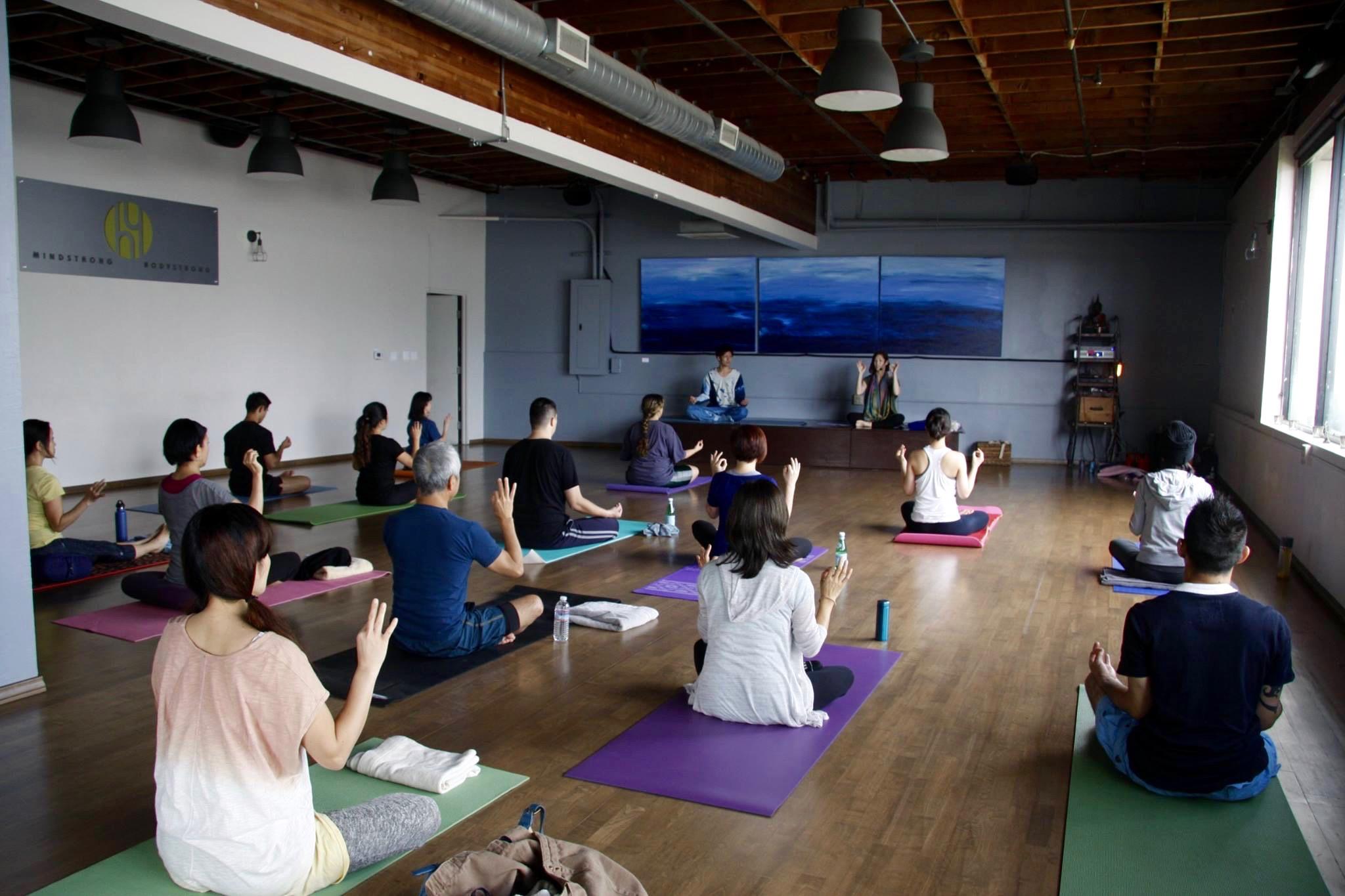 Miyuki Yoga& Ko Manaki  Mudra Los Angeles - 1