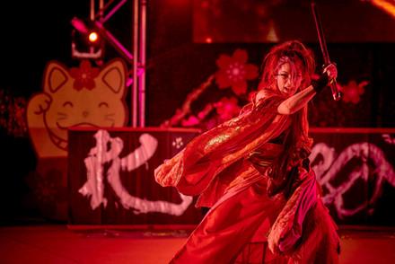 Miyuki GETA DANCE ART OC fest 19 Katana