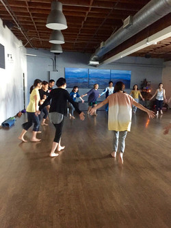 Miyuki Yoga& Ko Manaki  Laughter Yoga Los Angeles - 1