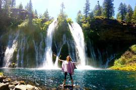 Miyuki M  幸 龍神の滝 McArthur-Burney Falls.j