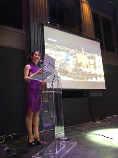 Miyuki Matsunaga Microsoft Emcee event p