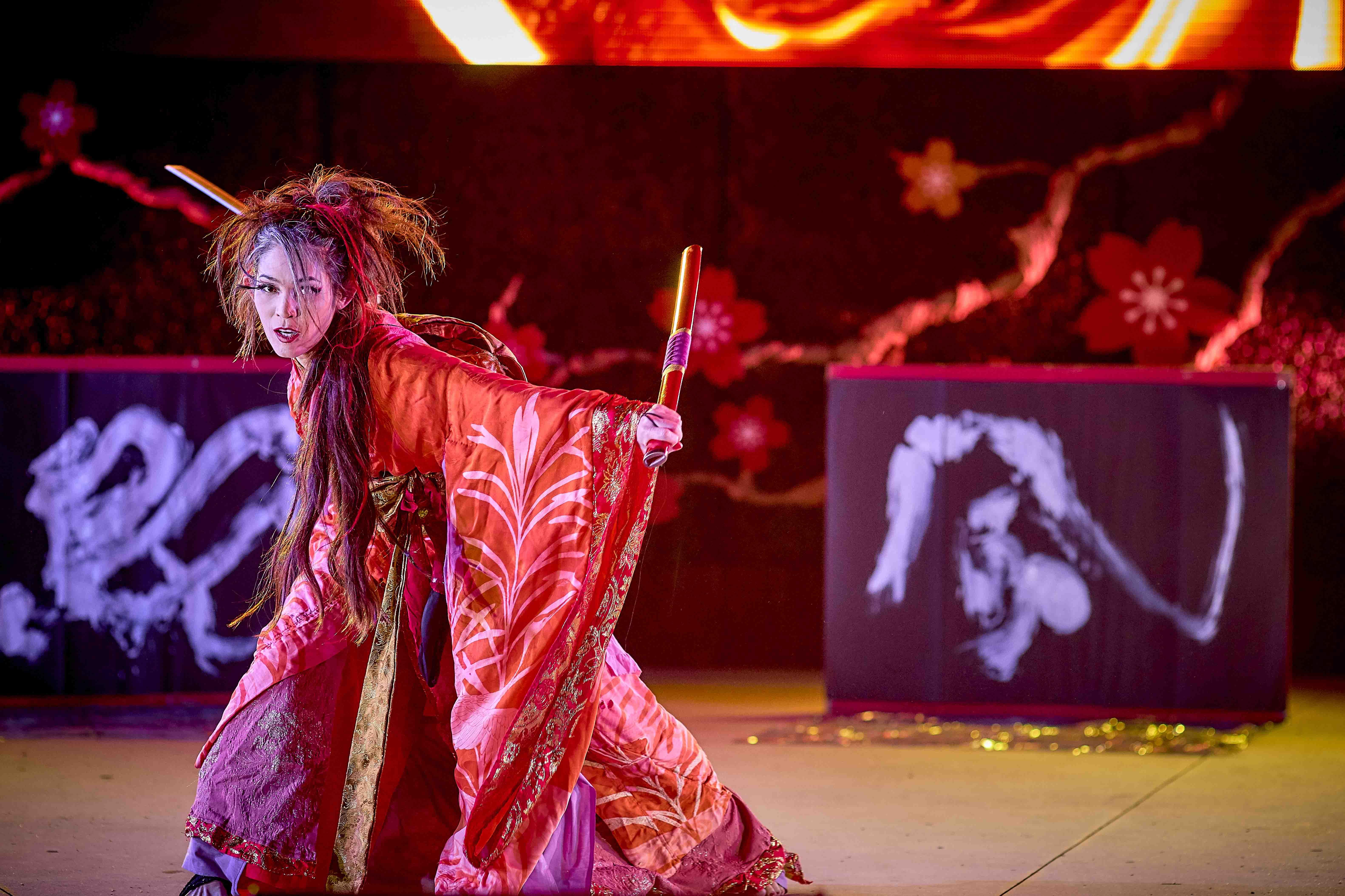 Miyuki GETA DANCE ART KATANA OC fest19