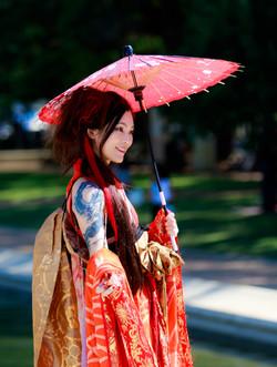 Miyuki Matsunaga GETA DANCE ART snapshot