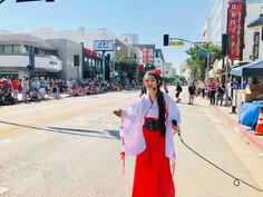 Miyuki Matsunaga Nisei Week Parade emcee