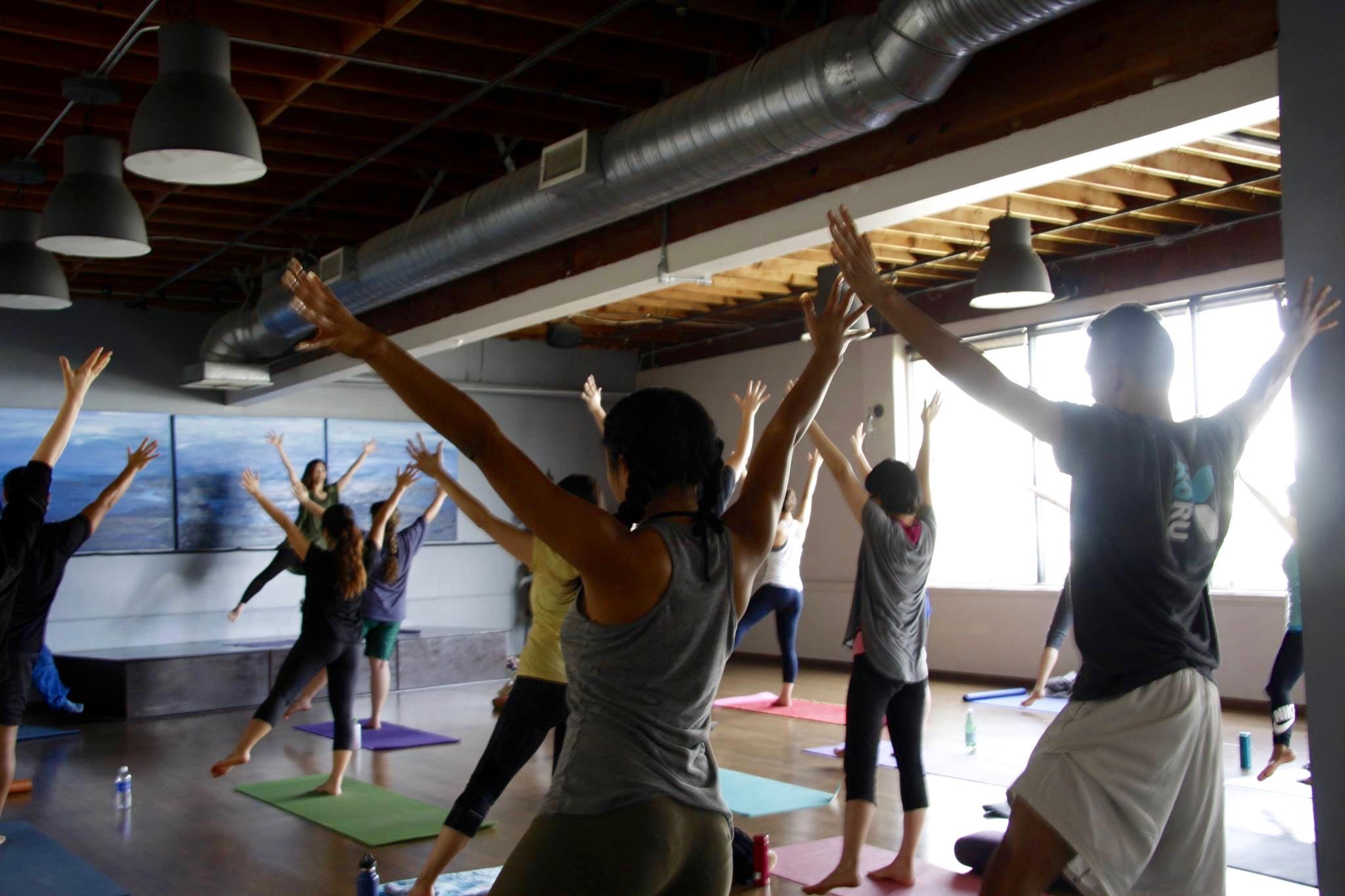 Miyuki Yoga& Ko Manaki Los Angeles Tree Pose - 1