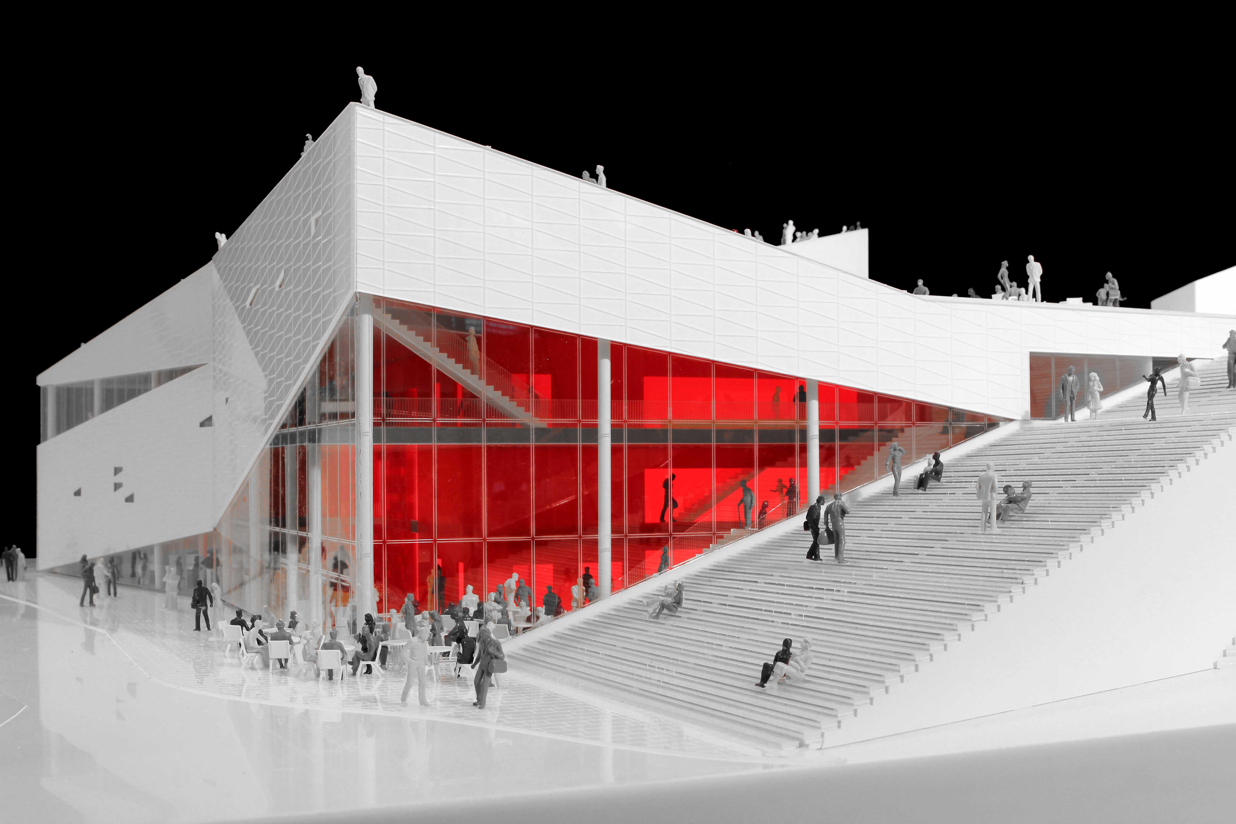 Plassen Cultural Center in Norway