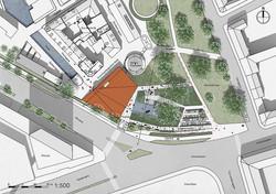 Landscape plan 1:500