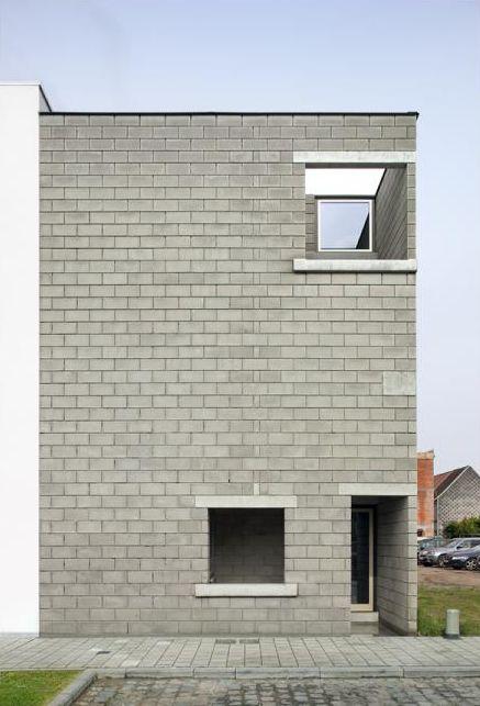 architecten de vylder vinck taillieu . Kavel Arbed house . GHENT  (1)