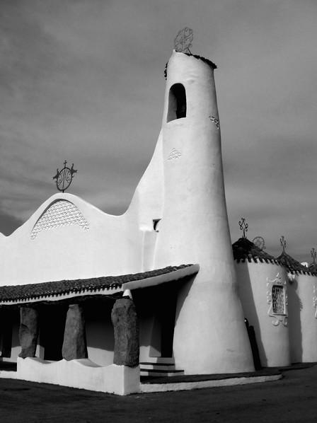 Church in Sardinia, Porto Cervo.