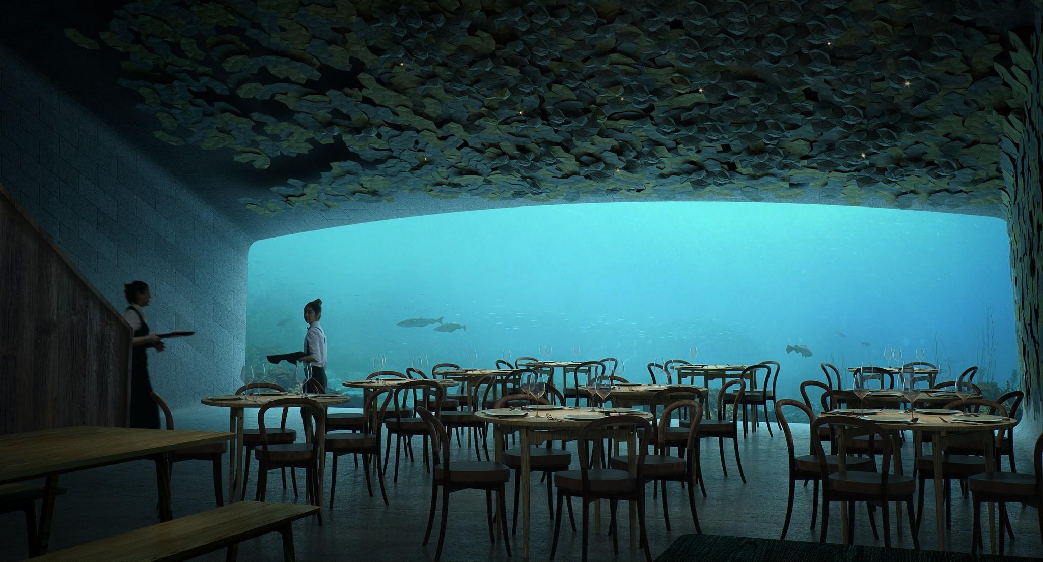 Render from inside the restaurent