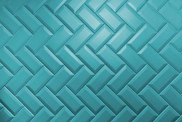Beveled aqua menthe matt ceramic tiles p