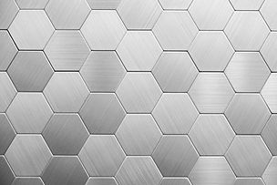 Abstract silver metal background. Geomet