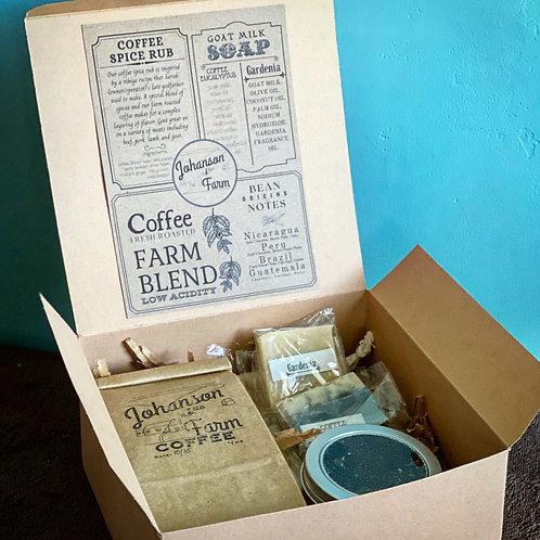 Farm Gift Box with 8oz coffee